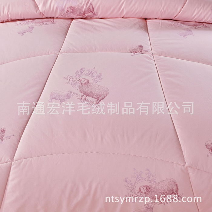 Comfortable and soft, with the function of moisture absorption and dehumidification, good resilience to ensure the buoyancy of the quilt.