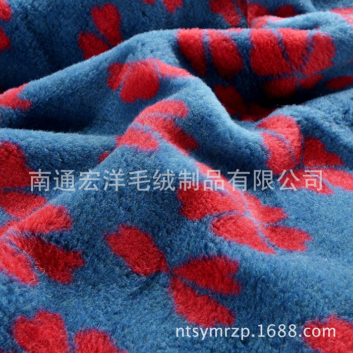 Comfort wool blended mat blanket winter bed warm quality first choice